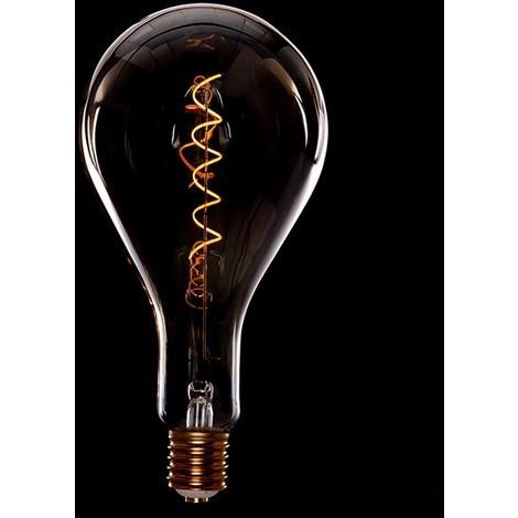 Bombilla Vintage LED Dimable Ps160 Broadway Vortice 4W E27 Vidrio Ámbar [AM-DL165] | Blanco Cálido (AM-DL165)