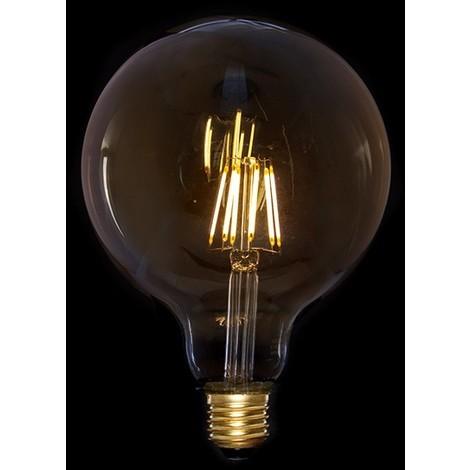 Bombilla Vintage LED G125 Egloo 6W E27 [AM-AL125] | Blanco Cálido (AM-AL125)