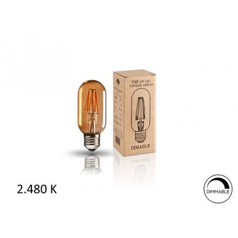 BOMBILLA.LED ·VINTAGE· T45 6W E27