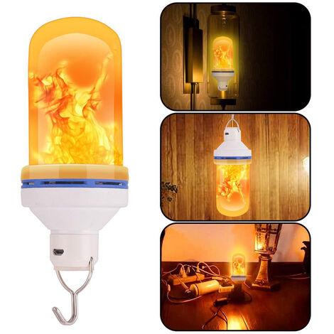 """main image of """"bombillas LED efecto de la llama incandescente emulacion de abrir y cerrar Decor"""""""