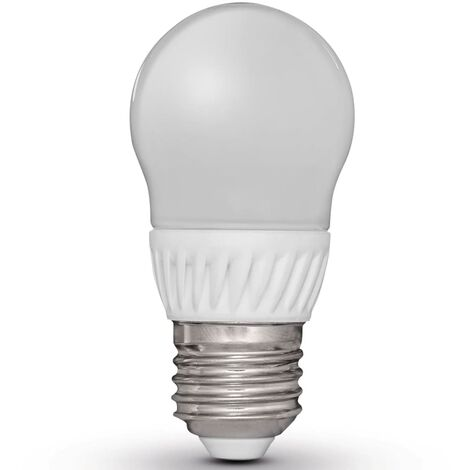Bombillas LED forma de pera modelo E27 230V 5W G45 Luxform, 4 unidades