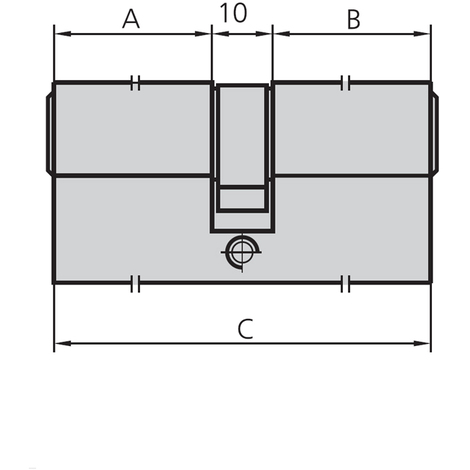 Bombillo C/ Pomo Laton - CVL - 5982P/2525/3 - 60 MM