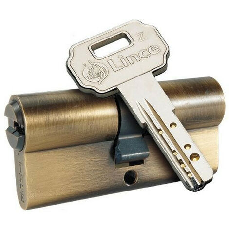 Bombillo Seguridad Latonado - LINCE - C45 3232L - 32X32 MM