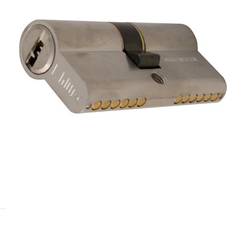 BOMBILLO SEGURIDAD NIQUEL LEVA CORTA TESA T60 35X35 MM