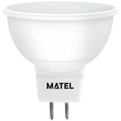 BOMB.LED DICROICA 120º MR16 5W.FRIA Matel