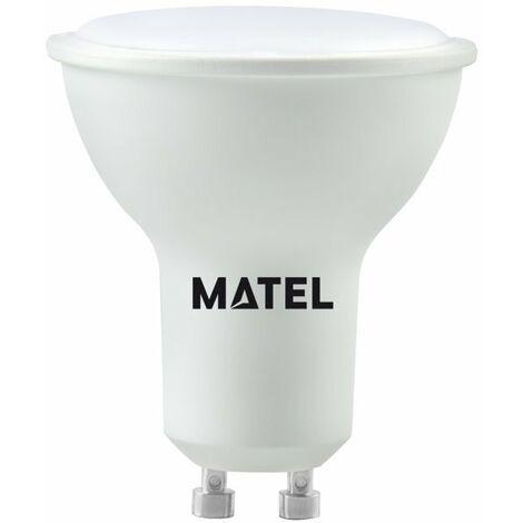 BOMB.LED DICROICA AL.FUND.120ºGU10 8W.F Matel