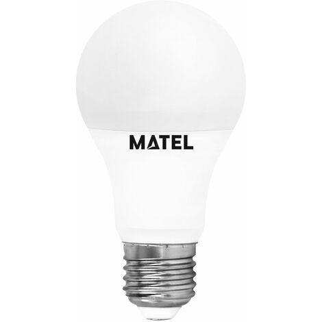 BOMB.LED ESTANDAR E27 12W.FRIA Matel