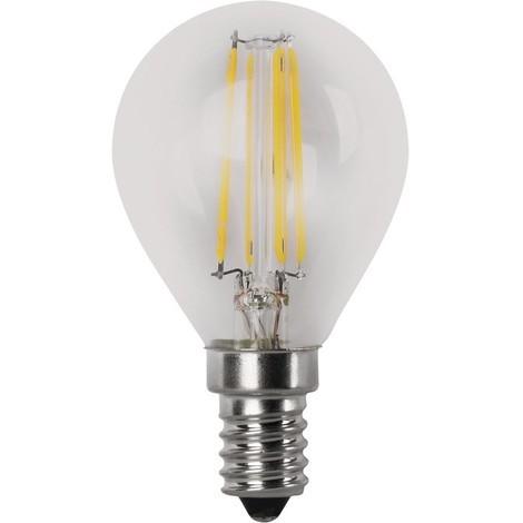 BOMB.LED FILAMENT.ESFER.CLARA E27 4W.FR Matel