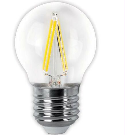 BOMB.LED FILAMENT.ESFER.CLARA E27 4W.FR Matel