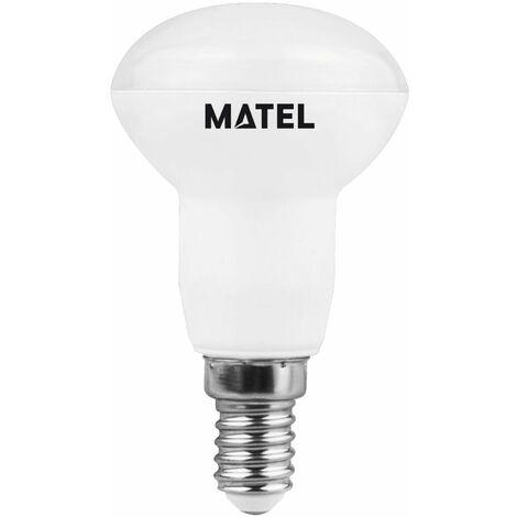 BOMB.LED REFLECTORA R-80 E27 10W.FRIA Matel