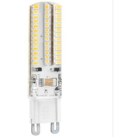 BOMB.LED SILICONA G9 5W. 230V. FRIA Matel
