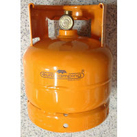 Bombola cucina ricaricabile contenitore per gas gpl da kg 2 campeggio