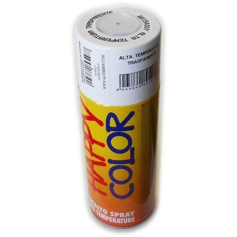Bomboletta happy color 400ml spray per alta temperatura max 350°c finitura semilucida