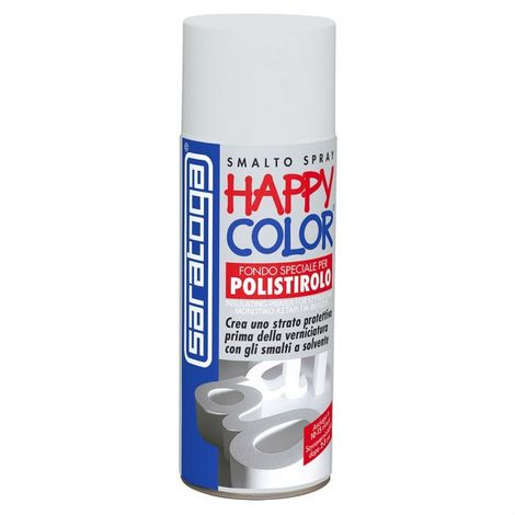 Bomboletta happy color spray 400ml primer fondo speciale per polistirolo