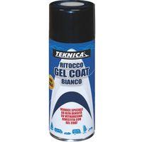 Bomboletta vernice Spray RITOCCO GEAL COAT BIANCO - 400ml - TEKNICA 17-0470