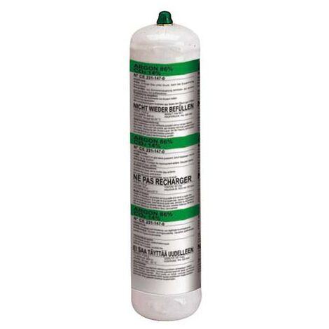 Bombona gas argón+CO2, 1 l, no recuperable TELWIN