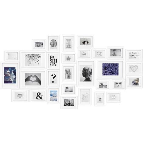 bomoe Juego de Marcos de Fotos múltiples para la Pared Emotion