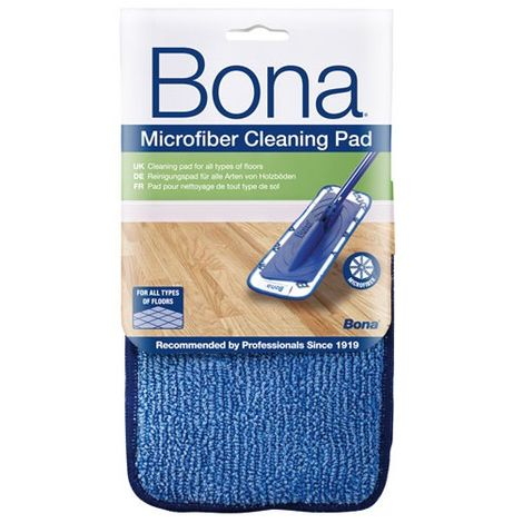 BONA - Housse microfibre de nettoyage Spraymop - bleu