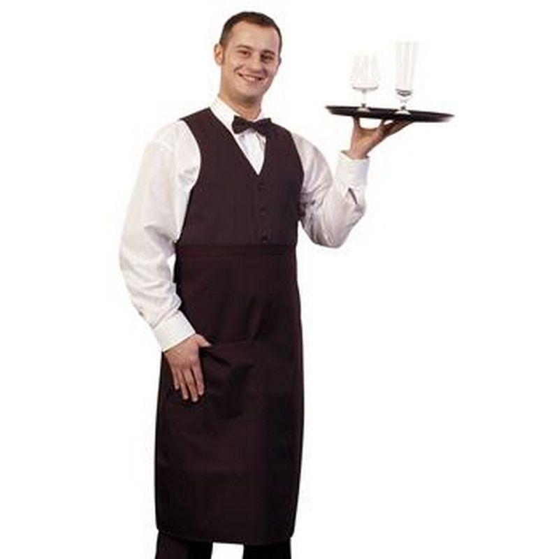 Image of 31 Inch Bistro Apron (One Size) (Black) - Bonchef