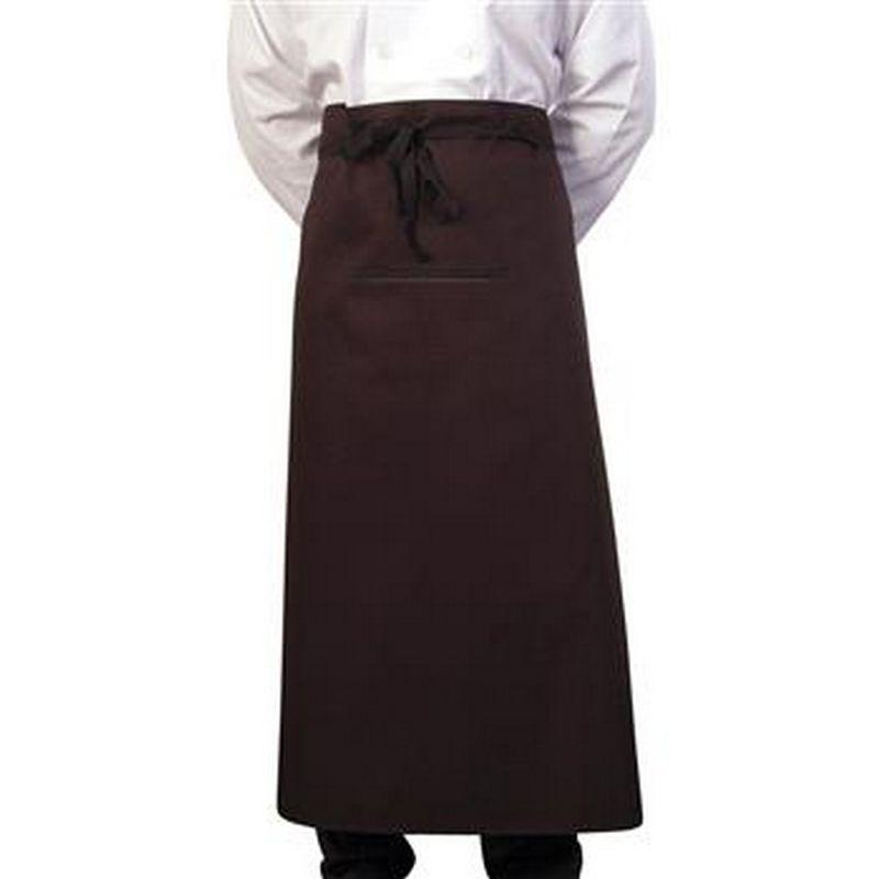 Image of 36 Inch Chef/Bar Apron (One Size) (Black) - Bonchef