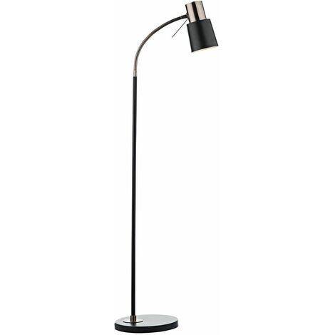 Bond floor lamp copper and black 1 bulb