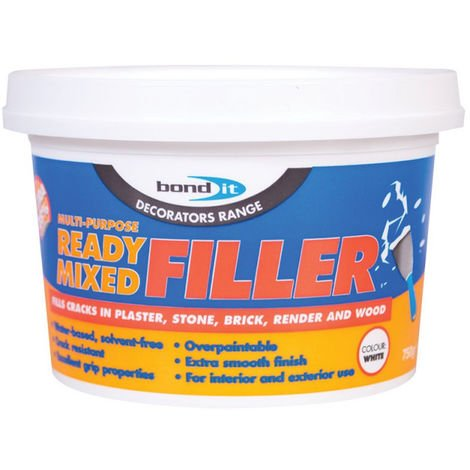 Bond It Ready Mixed Multi-Purpose Internal & External Filler Wall Plaster - 750g