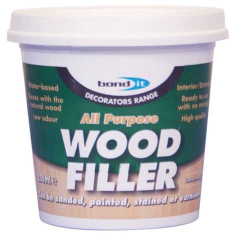 Bond It White All Purpose 1 Part Wood Repair Ready Mixed Filler 250ml