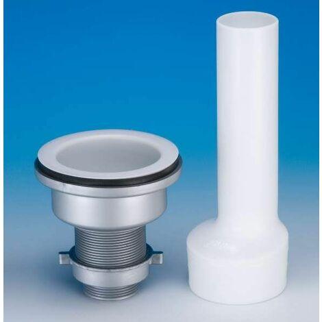 Bonde anti-acide pour laboratoire chimique, diamètre 90mm, tube 170mm