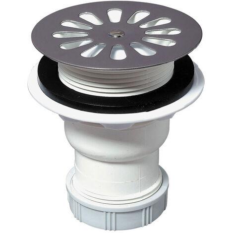 Bonde de douche Ø60 mm sortie verticale