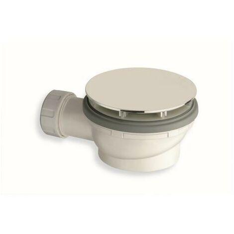 BONDE DE DOUCHE 90 mm FAIBLE ENCOMBREMENT EXTRA PLAT INOX - CRISTINA ONDYNA AD41028