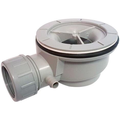 Bonde de douche Ø 90mm pour receveur avec grille