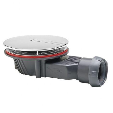 Bonde de douche ABS extra plate (Ht40mm) SLIM O90mm