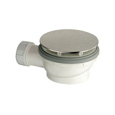 Bonde de douche avec couvercle extra plat Chrome VIDAGES - CRISTINA ONDYNA AD45551