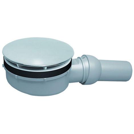 Bonde de douche Dallmer - 60mm pour receveur avec orifice de vidage de Ø 90mm - rotule réglable de 0 - 15 degrés