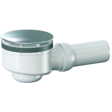 Bonde de douche Dallmer - 85mm pour receveur avec orifice de vidage de Ø 90mm - rotule réglable de 0 - 15 degrés
