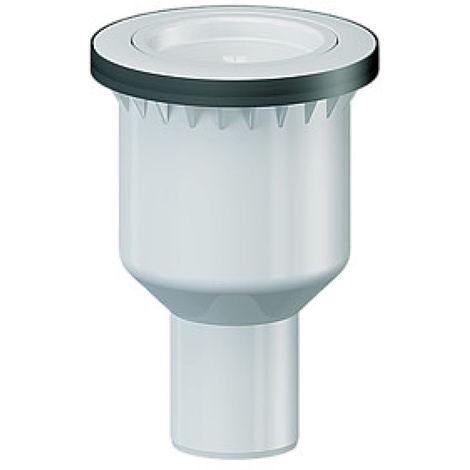 Bonde de douche Dallmer - DN 50 vertical - pour receveur de douche avec un orifice d'écoulement de 90mm