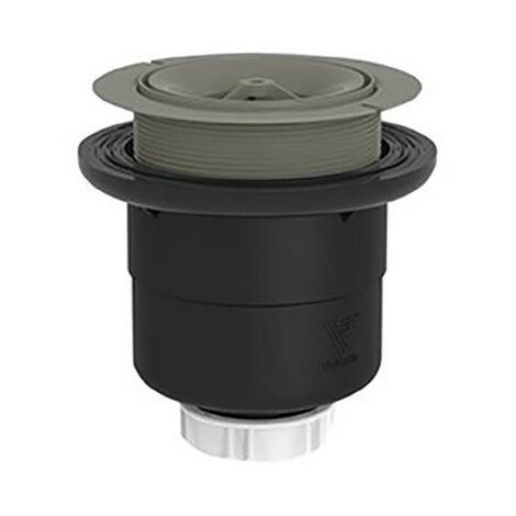 Bonde de douche extra-plate SV - Sortie verticale - Ø40mm