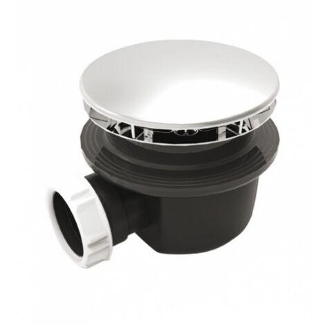 Bonde de douche horizontale - Ø 90 mm - Extra plate - Valentin