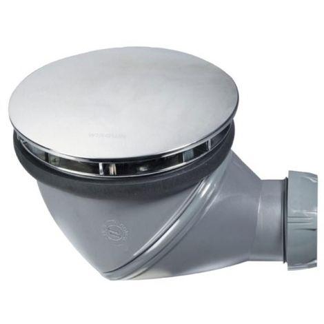Bonde de douche multiposition D90 James dôme chromé sortie 40mm