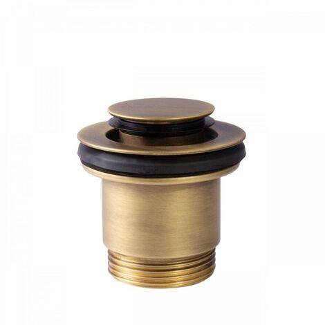 Bonde de lavabo Ø 40 mm CLICK‑CLACK - TRES 24284002LM