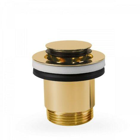 Bonde de lavabo Ø 40 mm CLICK‑CLACK - TRES 24284002OR