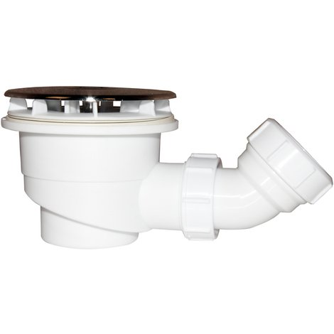 Bonde de receveur bonde de douche 90 mm avec le siphon 90cm bonde de douche haut débit extra plate couverture chromé diamètre 90mm