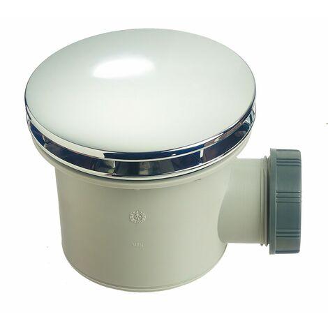 Bonde douche Tourbillon pour receveur, Diam.90 mm, WIRQUIN