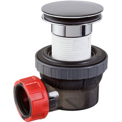 Bonde et siphon ultra compact NANO 6.7 D32 de WIRQUIN pour lavabo ou vasque
