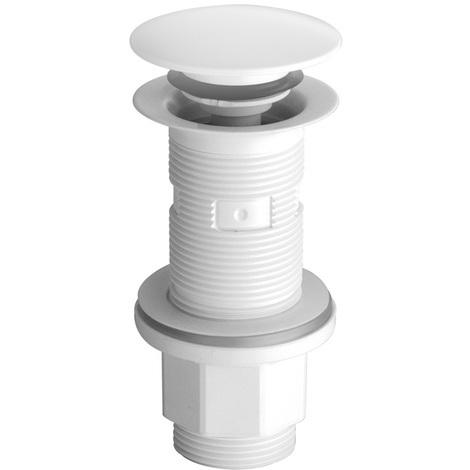 "Bonde lavabo recoupable UP&DOWN Ø64 (G1 1/4"") Blanc - Cristina Ondyna WA32006"