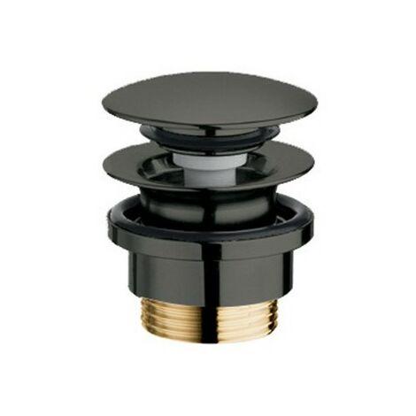 Bonde Lavabo Up&Down Laiton Nf Chrome Noir 5-55 Mm Robinetterie VIDAGES - CRISTINA ONDYNA UD42572