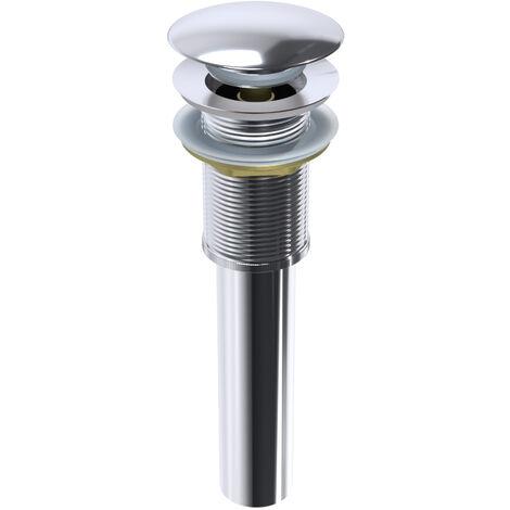 Bonde Pop-Up-fonction clic-clac pour lavabo et vasque sans trop-plein