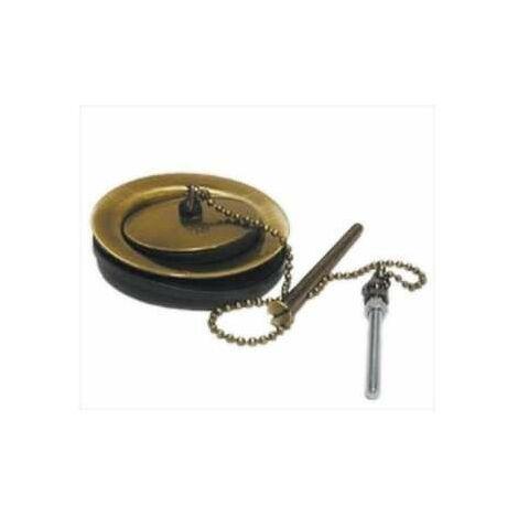 Bonde pour évier 60mm vieux bronze