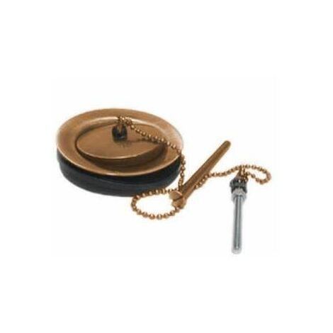 Bonde pour évier 60mm vieux cuivre