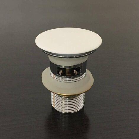 Bonde Pour Vasque Avec Trop Plein Cache En Solid Surface Ac Ss 002